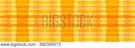 Autumn Tartan Background. Watercolor Picnic Flannel. Irish Geometric Stripes For Cloth Print. Seamle