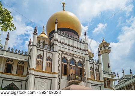 Sultan Mosque At Muscat Street In Kampong Glam, Singapore