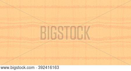 Summer Tartan Pattern. Watercolour Check Repeat. Irish Squares For Tile Print. Seamless Orange Tarta