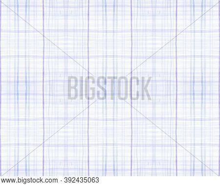 Blue And Green Tartan Prints. Seamless Textured Tile. Scottish Plaid Fabric. Abstract Man Border. Ge