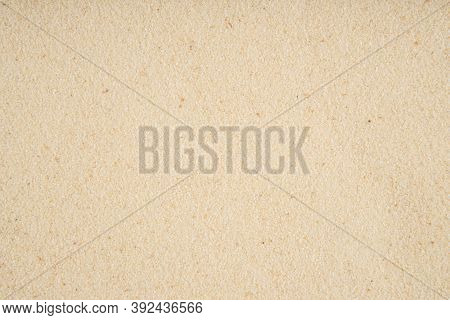 The Texture Of Semolina - Top View And Closeup Of The Semolina Grains