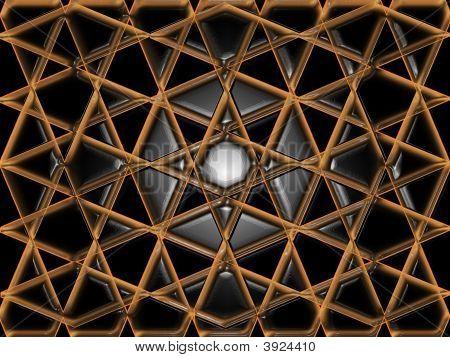 Abstract Ceramic Tiles Mosaic