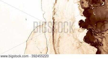 Vintage Wallpaper. Vintage Canva. Graphic Splash. Brown, Coffee Vintage Wallpaper. Sketch Swirl. Alc