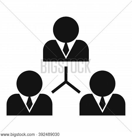 Business Training Scheme Icon. Simple Illustration Of Business Training Scheme Vector Icon For Web D