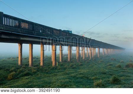 Whirokino Trestle Bridge Fall Into The Mist Of History.