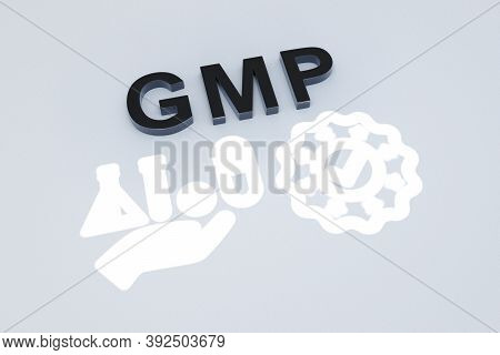 Gmp Concept Text Sunlight 3d Render Illustration