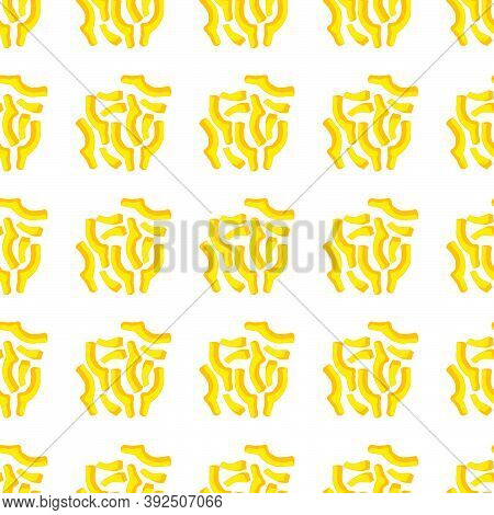 Illustration On Theme Of Bright Pattern Bell Pepper, Vegetable Capsicum For Seal. Vegetable Pattern