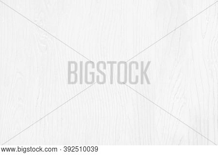 White Artificial Wood Wall Texture Background, Top-down View Of Wood Floor For White Background, Pat