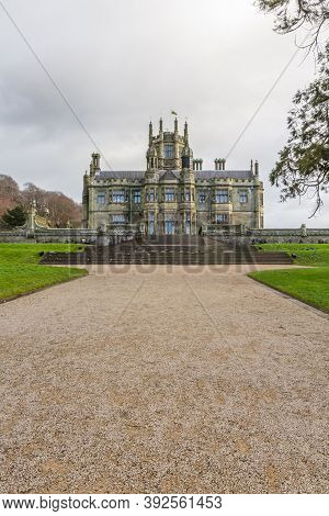 Editorial, Steps Leading Up To Margam Castle, Margam Country Park