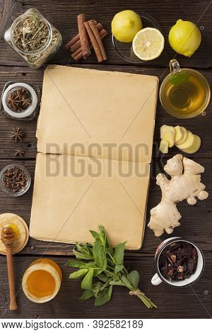 Traditional Medicine, Old Recipes For Traditional Medicine. Traditional Chinese Herbs Used In Altern