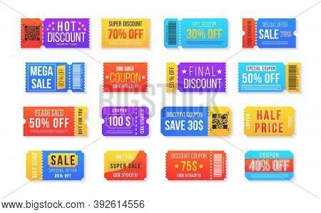 Vintage Cinema Ticket Concert And Festival Event, Movie Theater Coupon. Half Price Offer, Promo Code