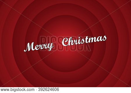Red Vector Image Of Merry Christmas. Screensaver In The Style Of Tom And Jerry, Papay Sailor, Woody