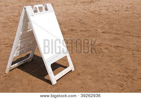 Board At The Beach