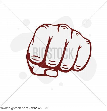 Hand Fist Victory Hand Fight Power Freedom Punch Fist Strong Protest Revolution Cut File For Cricut