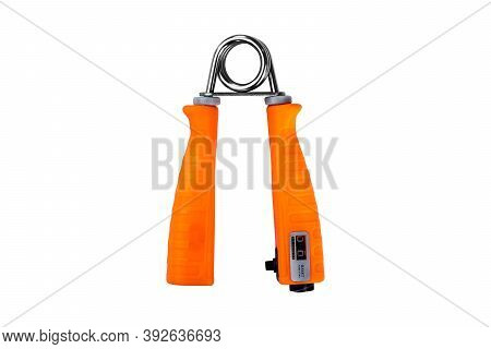 Sport Hand Grip Equipment Isolated On White Background.