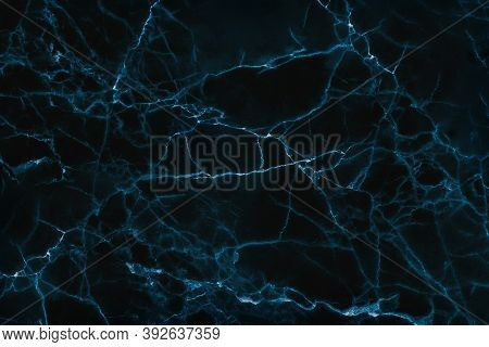 Abstract Black Marble Texture Pattern For Background Or Design Art Work.