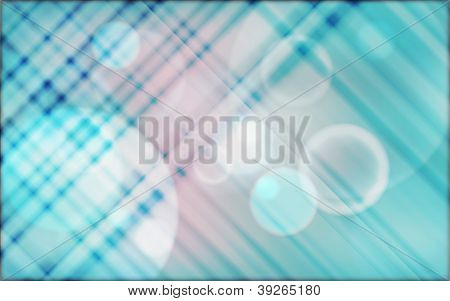 Blur bubbles abstract background