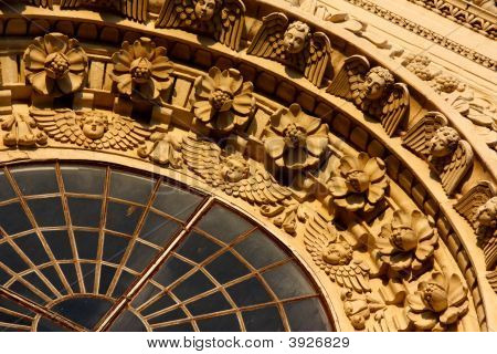 Baroque Decorations In Lecce Italy