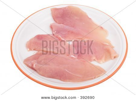 Sliced Chicken Meat