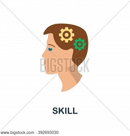 Skill Icon. Simple Element From Creativity Collection. Creative Skill Icon For Web Design, Templates
