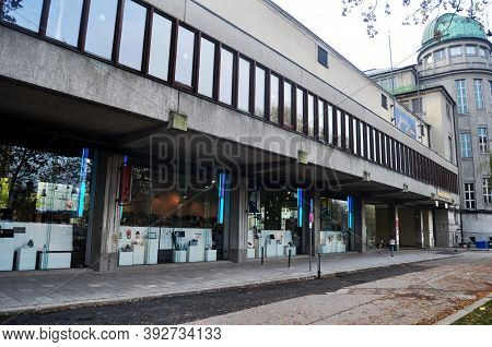 Deutsches Museum Library Or Des Deutsches Museum Bibliothek For German People And Foreign Travelers