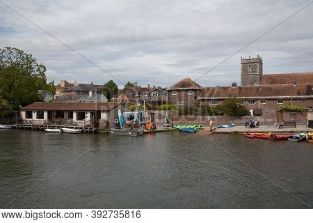 Views Of The River Frome In Wareham, Dorset In England, Taken On The 23rd July 2020