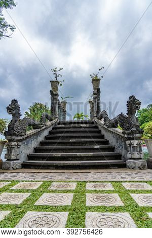 Tirta Gangga palace in Bali Indonesia