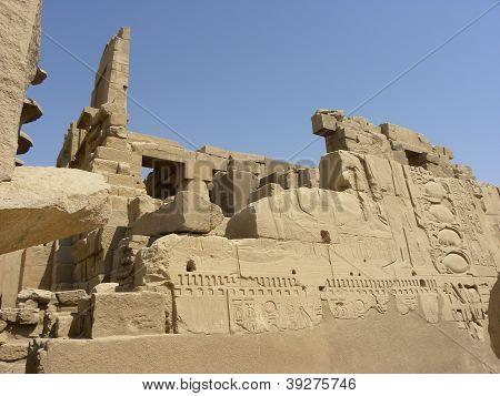 Egypt Ruins Temple Karnak