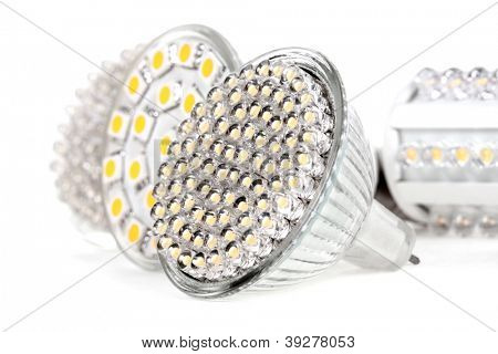 Newest LED light bulb technology is 90% more efficient than incandescent or halogen bulbs