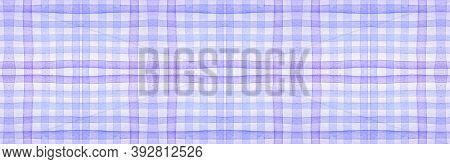 White Flannel Checks. Watercolour Plaid Material. Hipster Checkered Wallpaper. Seamless Flannel Chec
