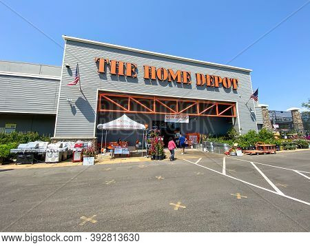 The Home Depot Store In Mira Mesa, California, Usa. Home Depot Is The Largest Home Improvement Retai