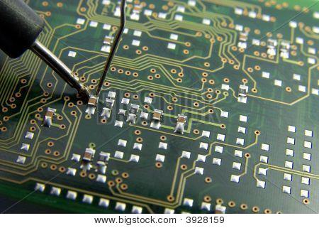 Electronic Repair Close-Up