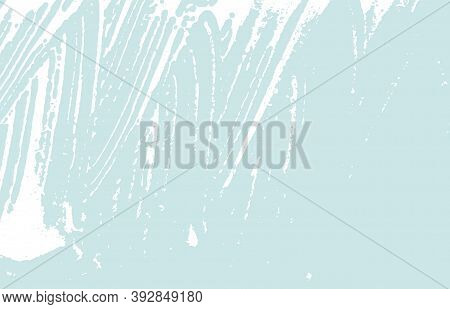 Grunge Texture. Distress Blue Rough Trace. Charming Background. Noise Dirty Grunge Texture. Delightf