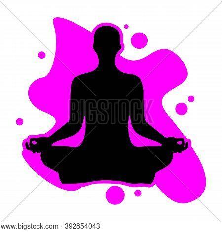 Meditate Yoga Icon, Meditate Yoga Icon Eps10, Meditate Yoga Icon Vector, Meditate Yoga Icon Eps, Med