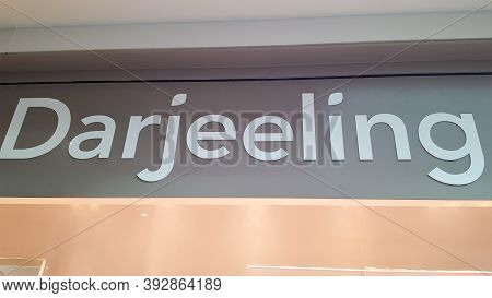 Bordeaux , Aquitaine / France - 11 01 2020 : Darjeeling Sign And Text Logo Front Of Store Lingerie U
