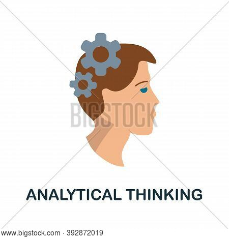 Analytical Thinking Icon. Simple Element From Critical Thinking Collection. Creative Analytical Thin