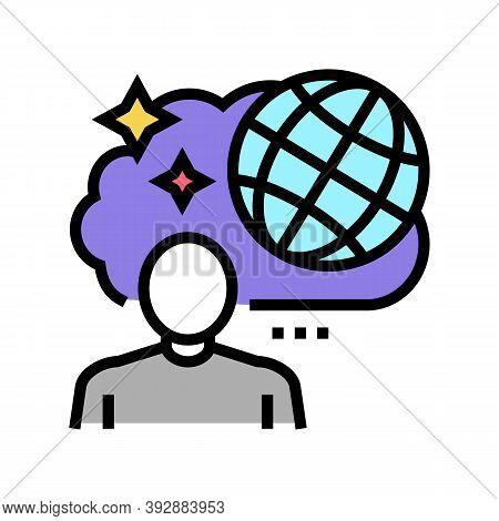 Travel Nostalgia Color Icon Vector. Travel Nostalgia Sign. Isolated Symbol Illustration