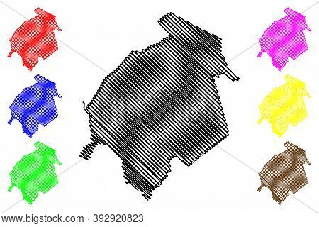 Ohio County, Kentucky (u.s. County, United States Of America, Usa, U.s., Us) Map Vector Illustration