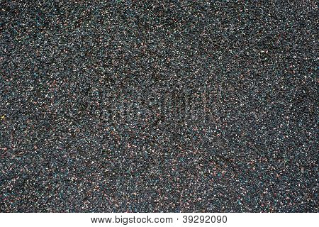 Black Playground Soft Rubber Surface
