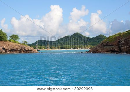 Coast Of Antigua