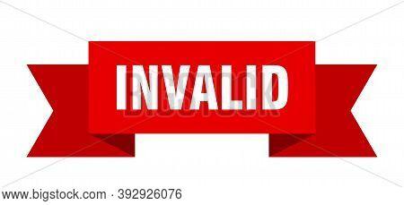 Invalid Ribbon. Invalid Isolated Band Sign. Invalid Banner