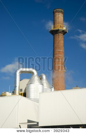 Industrial Smokestack