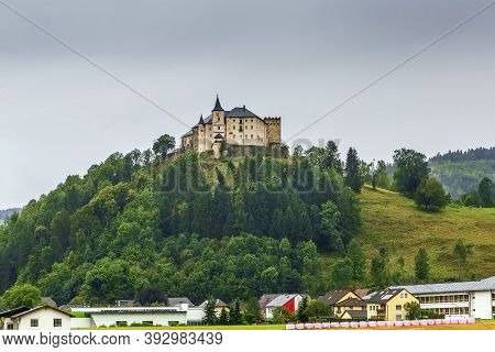 Schloss Strassburg Is A Castle On The Hill In Strassburg, Carinthia, Austria
