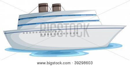 illustration of a boot on a white background