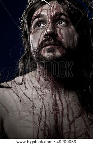 Jesus Christ, crucifixion concept, religion picture
