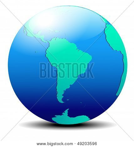 South America Global World