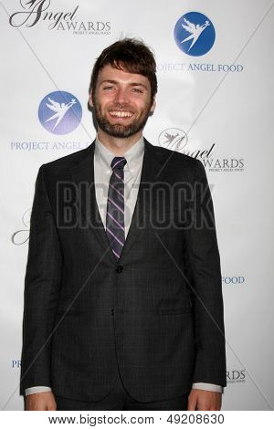LOS ANGELES - AUG 10:  Seth Gabel at the Angel Awards at the Project Angel Food on August 10, 2013 in Los Angeles, CA