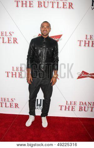 LOS ANGELES - AUG 12:  Jesse Williams at the