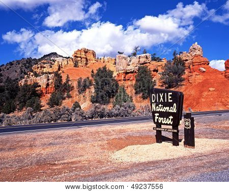 Red Canyon, Dixie National Forest, Utah.