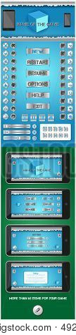 graphical user interface for games 2